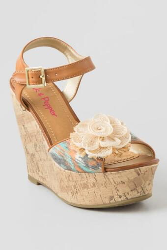 Tialla Flower Wedge