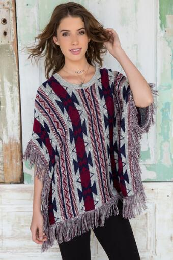 Miller Poncho Sweater