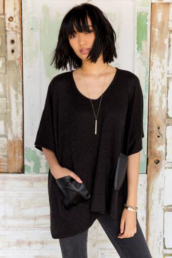 Romilly Poncho Sweater