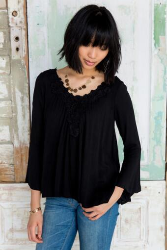 Morgana Crochet Blouse