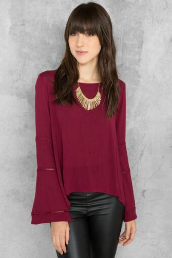 Cassia Solid Blouse