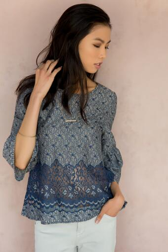Satine Lace Blouse