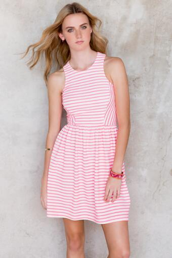 Emely Striped Dress