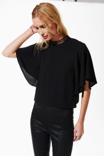Alice Lace High Neck Blouse