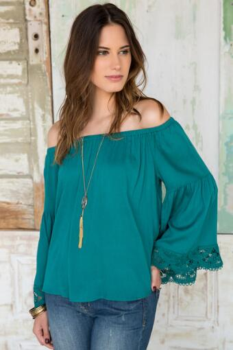 Rosanna Off-The-Shoulder Blouse