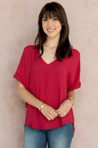 Jessie Solid Blouse